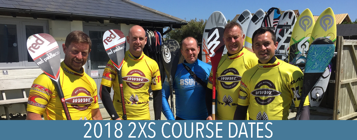 2018 2xs course dates 2