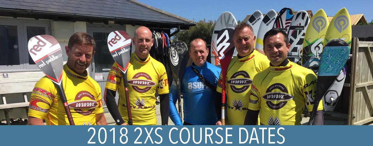 2018 2xs course dates 2